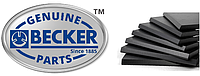 Графитовая лопатка BECKER 90135200007 WN 124-161