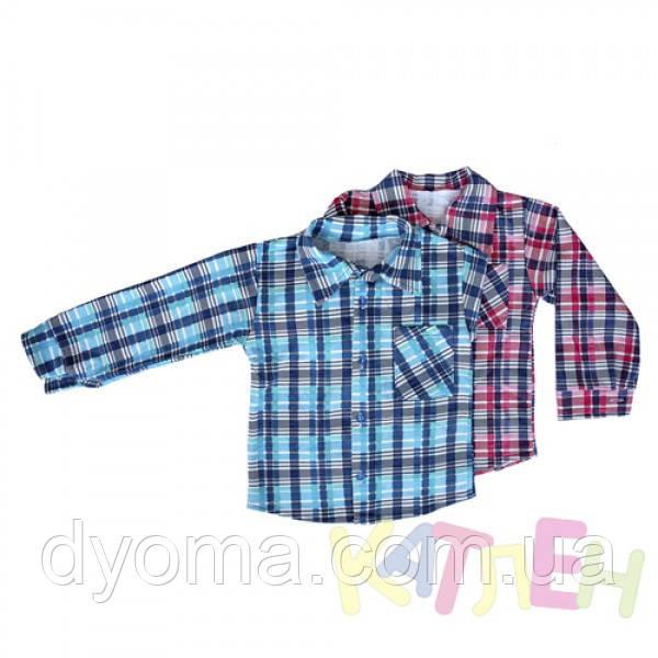 Детская байковая рубашка