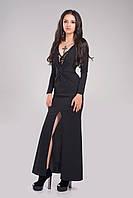 """Длинное платье в пол """" Коктейль """" Dress Code, фото 1"""