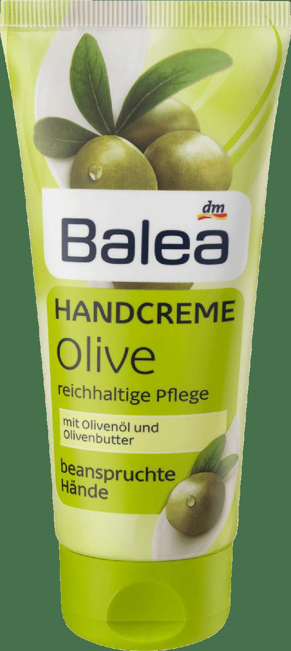 Крем для рук и ногтей Balea Olive, 100ml.