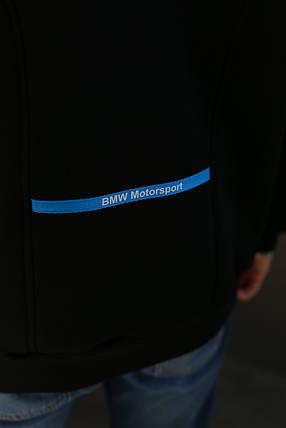 Толстовка мужская зимняя Puma BMW Motorsport (черная), фото 2