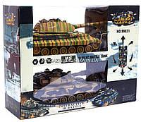 Танковый бой - Танки T-90 и KingTiger, на радиоуправлении (арт. 99821)