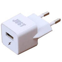 Сетевое з/у JUST Core Dual USB Wall Charger (3.4A/17W, 2USB) White (WCHRGR-CR-WHT)