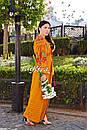 Вышиванка платье бохо шик, вишите плаття вишиванка, этно стиль Вита Кин, фото 6