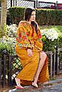 Вышиванка платье бохо шик, вишите плаття вишиванка, этно стиль Вита Кин, фото 4