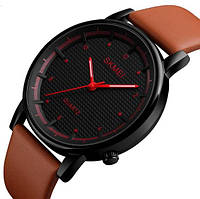 Мужские наручные часы Skmei 1210 Harlem. Стильные классические часы на батарейке