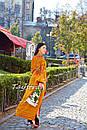 Вышиванка платье бохо шик, вишите плаття вишиванка, этно стиль Вита Кин, фото 7