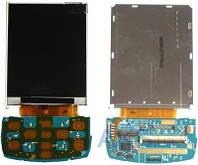 Дисплей (экран) для телефона Samsung D880 с верхним клавиатурным модулём