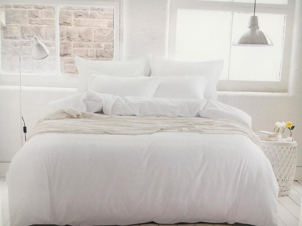 Сатиновое постельное белье Однотонное