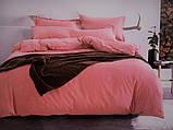 Сатиновое постельное белье Однотонное, фото 2