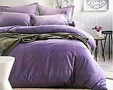 Сатиновое постельное белье Однотонное, фото 3