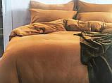 Сатиновое постельное белье Однотонное, фото 5