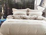 Сатиновое постельное белье Однотонное, фото 6