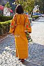 Вышиванка платье бохо шик, вишите плаття вишиванка, этно стиль Вита Кин, фото 10