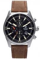 Мужские наручные классические часы Royal London 41364-02. Кварцевые часы с хронографом и датой