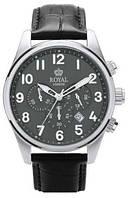 Мужские классические наручные часы Royal London 41201-02. Оригинальные английские часы с хронографом