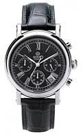 Мужские классические наручные часы Royal London 41193-02. Английские кварцевые часы с хронографом