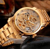 Мужские механические часы Winner BestSeller New. Классические наручные часы скелетоны