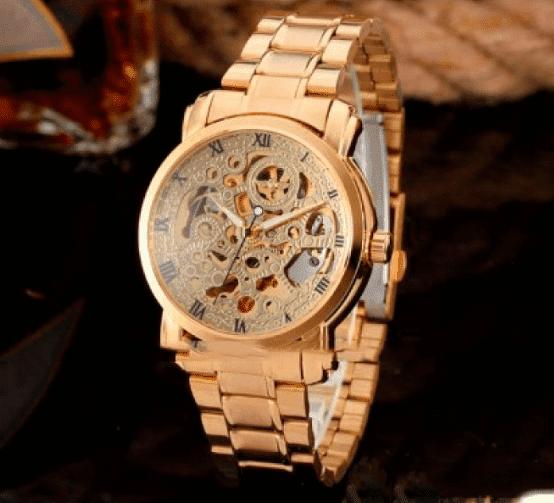 5784083936ac Мужские механические часы Winner BestSeller New. Классические наручные часы  скелетоны