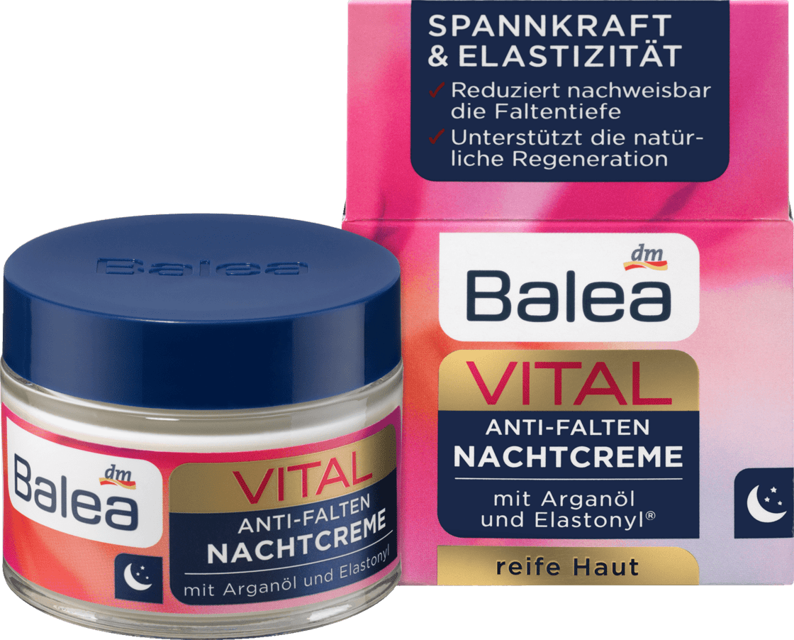 Восстанавливающий ночной крем для лица VITAL Anti-Falten Nachtcreme