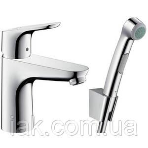 Hansgrohe Focus 31927000 смеситель для умывальника с гигиеническим душем