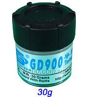 Термопаста GD900 весом 30 гр для процессоров ПК и видеокарт в банке