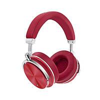 Беспроводные Bluetooth наушники Bluedio T4 с шумоподавлением (Красный), фото 1
