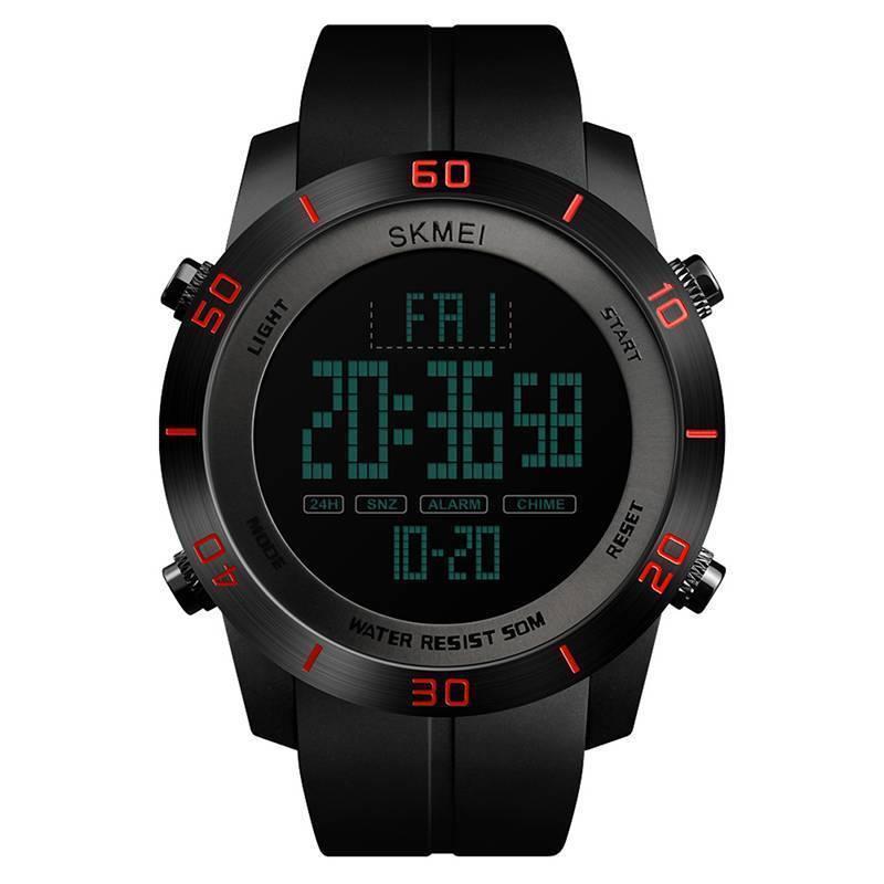Мужские часы Skmei 1353 красные