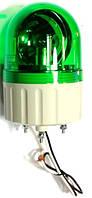 Проблесковый маячок зеленый с сиреной 220 VАС  ASGB220G