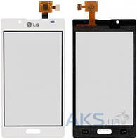 Сенсор (тачскрин) для LG Optimus L7 P700, Optimus L7 P705 Original White
