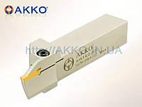 Резец токарный канавочный AAKT-K-L-2525-100-150-5-T25 для торцевых канавок под пластину MGMN 500 державка AKKO