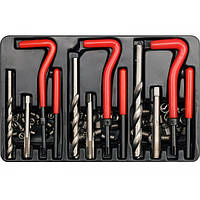 Набор инструментов и деталей для ремонта резьб YATO YT-1769
