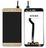 Оригинальный дисплей (модуль) +тачскрин (сенсор) для Huawei Honor 6C Pro (version 1) | Honor V9 Play (золотой)