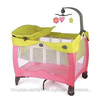 Багатофункціональний манеж для новонароджених Graco Contour Vibe  - mybuy24.net Інтернет магазин  в Львове
