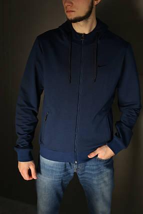 Кофта мужская Nike internationale,синяя , фото 2