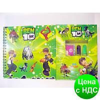 Набор для детского творчества (68 предметов) портфель-дерево
