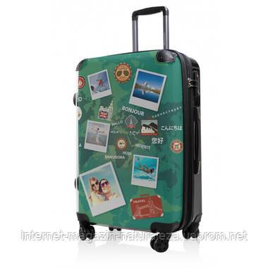 Дорожній чемодан Hauptstadtkoffer BLNBAG World Polaroid Midi зелений