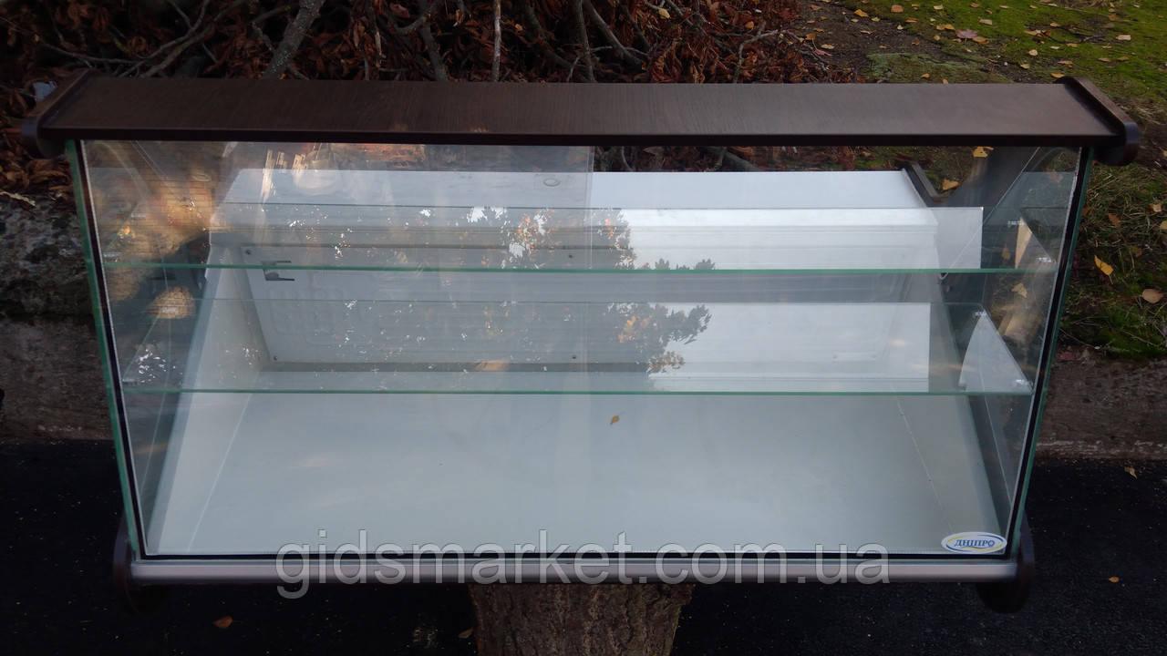 Кондитерская витрина настольная 1,25 б/у., витрина кондитерская б/у.