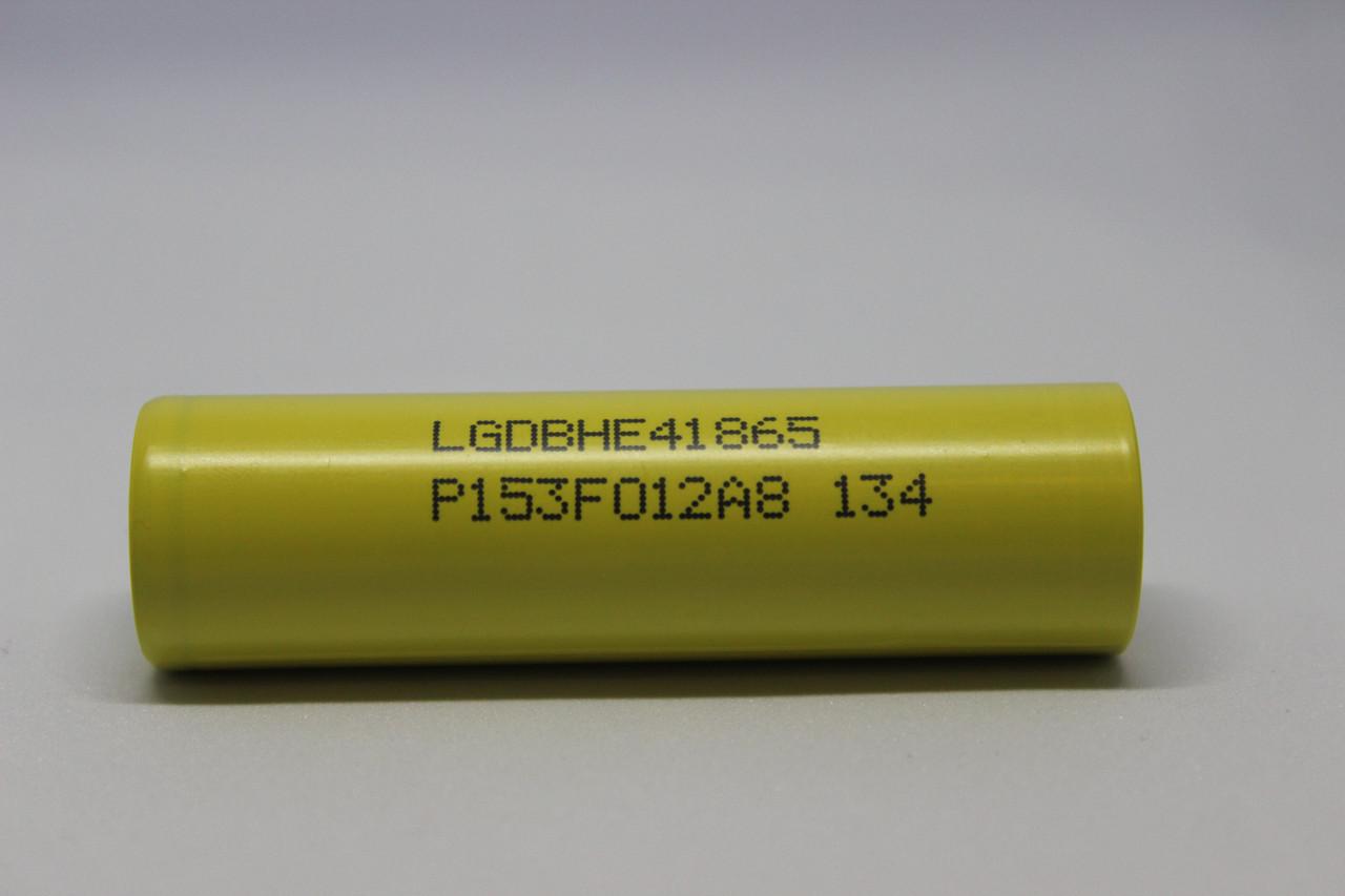 Аккумулятор LG HE4 2500mah 20А 18650 (банан)