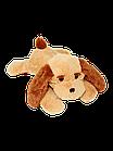Мягкая игрушка Собака Тузик 50 см медовый, фото 2