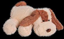 Плюшева собачка(м'яка іграшка) Кулька 55 см персиковий