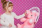 Плюшевый слон (мягкая игрушка) 55 см розовый Алина, фото 3