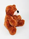 Плюшевая игрушка медведь Бублик 95 см коричневый, фото 2