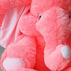 Плюшевый слон(мягкая игрушка)  120 см розовый Алина, фото 3