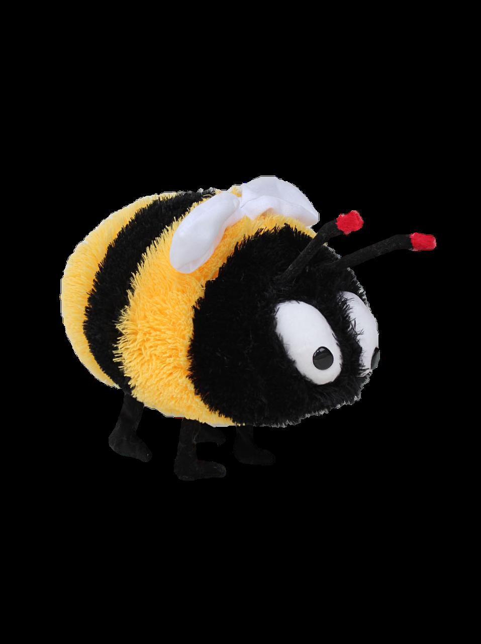 Плюшевая пчелка (мягкая игрушка)  33 см черно-желтая Алина