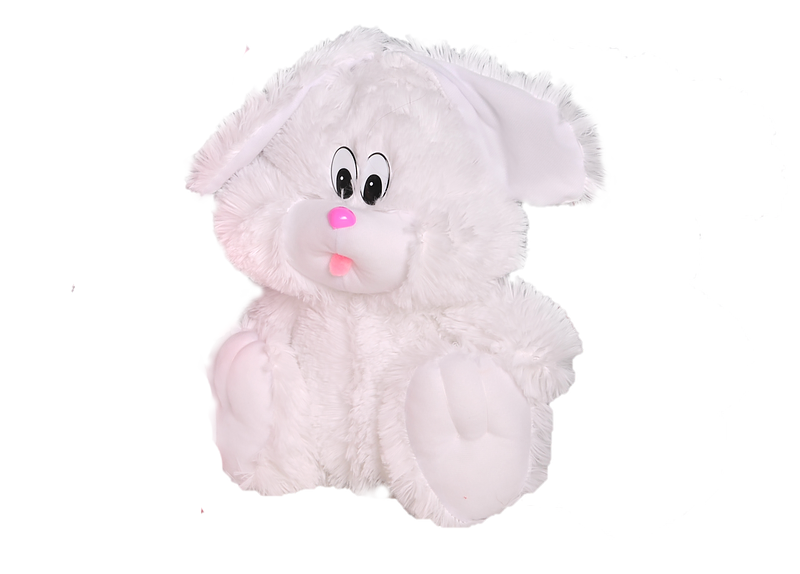 Плюшевый зайчик(мягкая игрушка) 110 см белый Алина