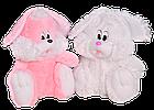 Плюшевый зайчик(мягкая игрушка) 110 см белый Алина, фото 2