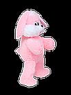 Мягкая игрушка Алина Зайка Снежок 90 см розовый, фото 2