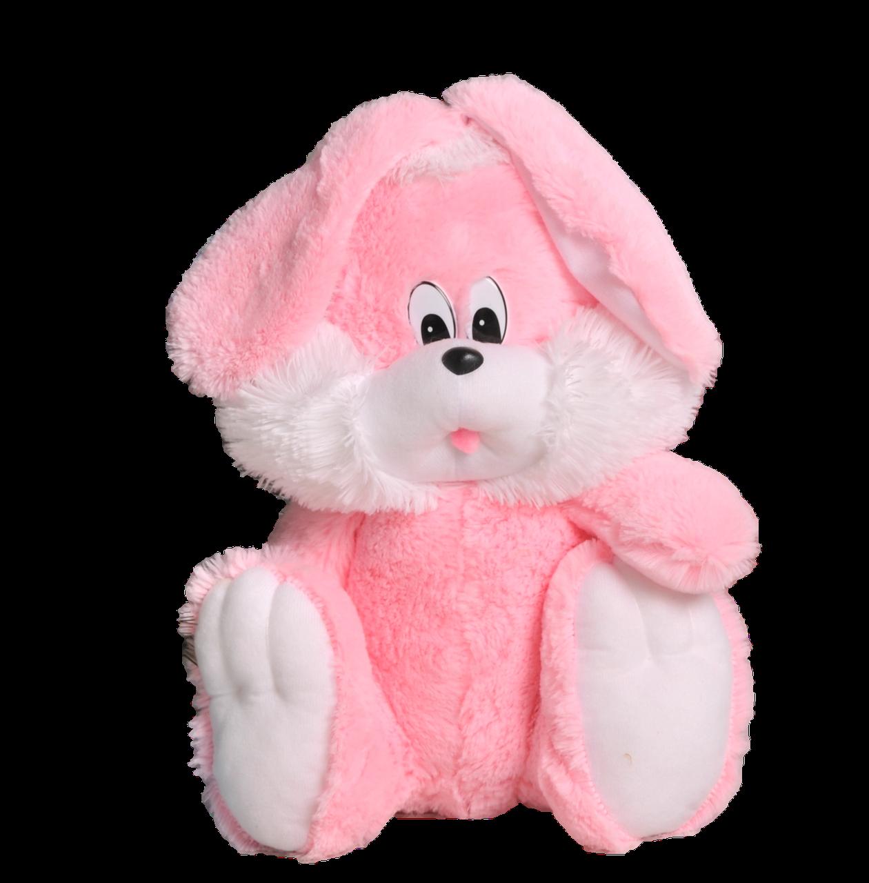 Плюшевый зайчик(мягкая игрушка)  110 см розовый Алина