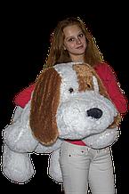 Плюшева собачка Кулька(м'яка іграшка)10 см білий Аліна